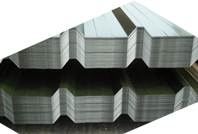 Trapezoidal sheet fabrication