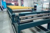 The trapezoidal sheet manufacturing line (a rolling mill and guillotine-shears)
